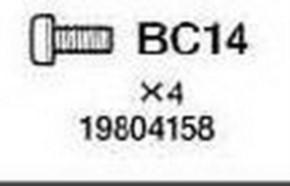 M2 x 4 mm Schraube, 10 Stück