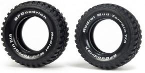 Trial-Reifen für Tourenwagenfelgen Tamiya, 2 St.