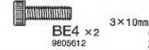 Schraube 3-10mm