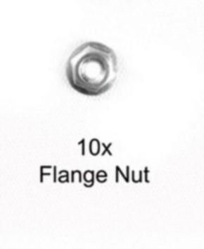 M3 Kragenmutter, 10 Stück, Restbestände