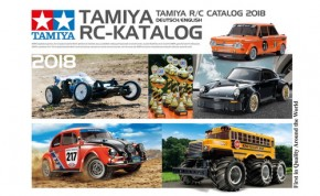 Tamiya RC-Katalog 2018