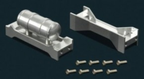 Alu-Rahmentraverse mit Lufttank, 2-Teile