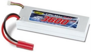 LiPo Racing Pack 11,1V 3600 mAh 30C