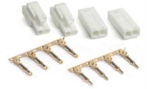 Tamiya-Mini-Stecker und Mini-Buchsen, 2 Paar