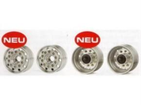 Vorderrad-Kunststofffelgen für Breitreifen, Paar
