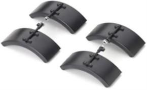 Kotflügelsatz 4 Viertelstücke mit Haltern