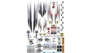 Dekorbogen LKW Zierstreifen, Restbestand