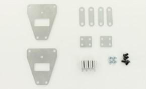 Höherlegungs-Set +8mm für alle 3-Achser Tamyia Zugmaschinen