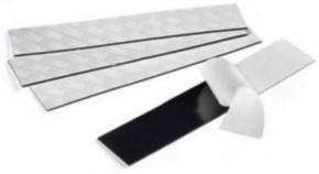 Doppelseitiges Klebeband, schwarz, 40 cm