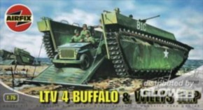 Buffalo Amphibian and Jeep