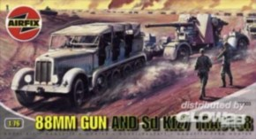 88 mm Gun and Tractor