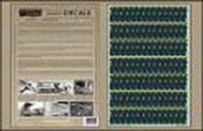 5 color Upper Lozenge Decals , limitiert