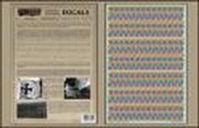 5 color Lower Lozenge Decals , limitiert