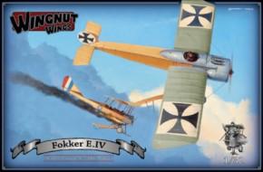 Fokker E. IV,  Topmodell, limitiert