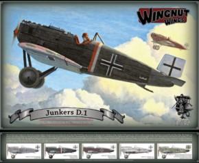 Junkers D.1 , Topmodell, limitiert