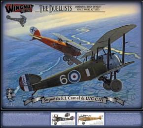 The Duellist: Sopwith Camel F.1 und LVG C.VI, Topmodell, lim.