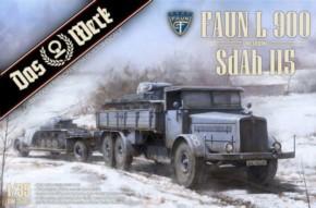 Faun L 900 mit SdAh 115