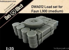 Ladungsset für Faun L 900 medium