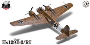 Henschel HS 129 B2 RIII, limitiert