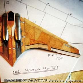 Holzoberfläche für Horten Ho 229