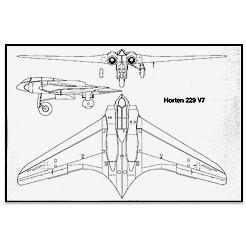 """Ho 229 """"V7"""" Umbausatz auf 2-Sitzer"""