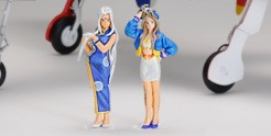 Belldany & Urd Race Queen, 2 Figuren