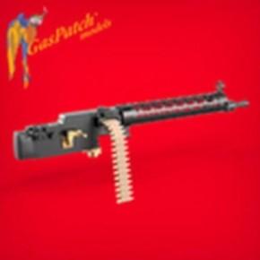 2 Maschinengewehre WWI Spandau 08/15, Resin
