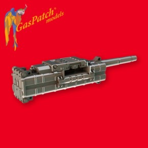 4 Maschinenkanonen MK108, Resin