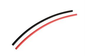 Schrumpfschlauch, D2,0mm 2x0,5m rot/schwarz