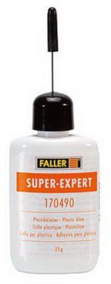 Super Expert-Plastikkleber, 25 gr. Kanüle, orange