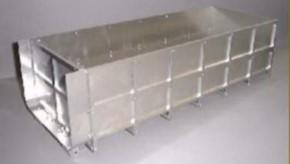 Mittelhoher Container-Bausatz zu TA-Abrollaufbau