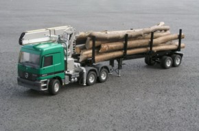 Bausatz Langholzladekran für Wedico-Fahrzeuge