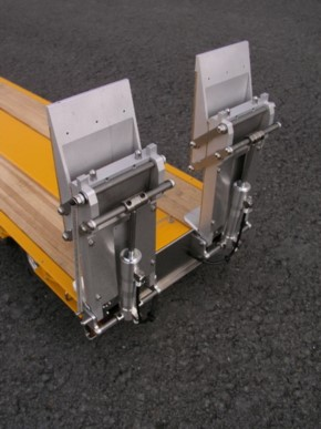 hydraulische Tiefladerrampen für Wedico Tieflader