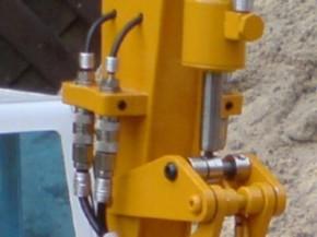 Schnellkupplungsset 3.Arm zu Mobilbagger