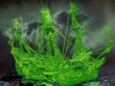 Geisterschiff mit Nachtleuchtfarbe
