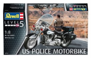 US Police Motorbike, Neuheit 06/17