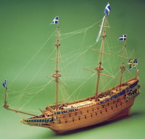 Wasa, schwed. Kriegsschiff,1180 mm lang