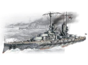 WWI dt. Schlachtschiff Großer Kurfürst