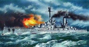 WWI dt. Schlachtschiff Kronprinz