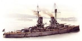WWI dt. Schlachtschiff Markgraf