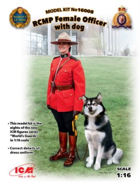 RCMP Femal Officer with dog