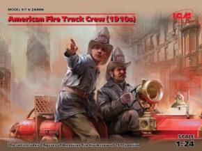 American Fire Truck Crew 1910´s, 2 Figuren