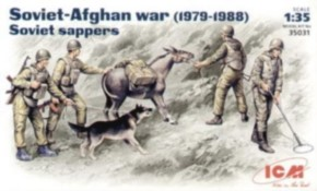 Soviet Sappers Soviet Afghan War (1979-88)