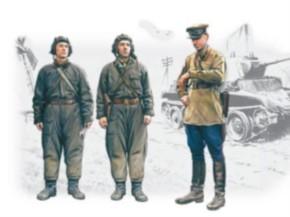Soviet Tank Crew 1939-1942