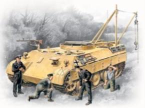 Bergepanther mit Panzerbesatzung