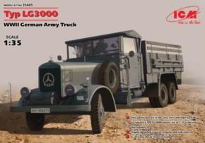 WWII Typ LG3000, Army Truck