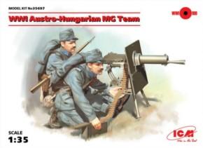 WWI öster. ungar. MG-Team, Neuheit 09/17