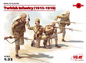 WWI türk. Infanterie 1915-18, Neuheit 12/17