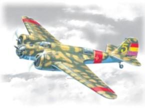 Spanischer Bomber SB 2M-100