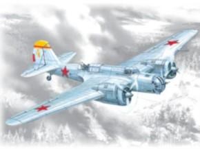 WWII Sowietischer Bomber SB 2M-100A